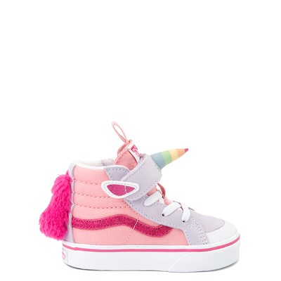 Main view of Vans Sk8 Hi V Unicorn Skate Shoe - Baby / Toddler - Pastel Multi