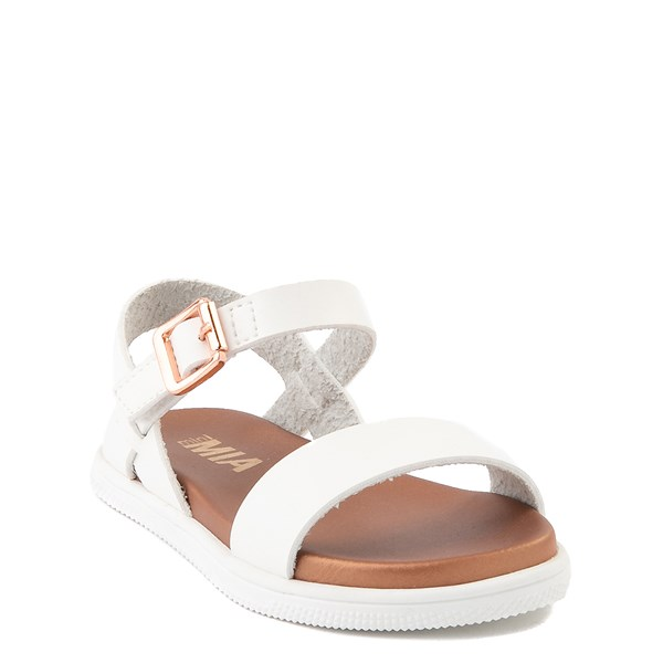 alternate view MIA Deedra Sandal - Toddler / Little Kid - WhiteALT1