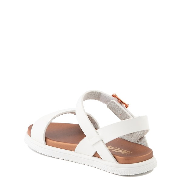 alternate view MIA Deedra Sandal - Toddler / Little Kid - WhiteALT2