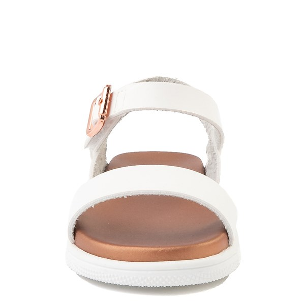 alternate view MIA Deedra Sandal - Toddler / Little Kid - WhiteALT4