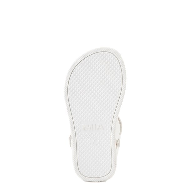 alternate view MIA Deedra Sandal - Toddler / Little Kid - WhiteALT5