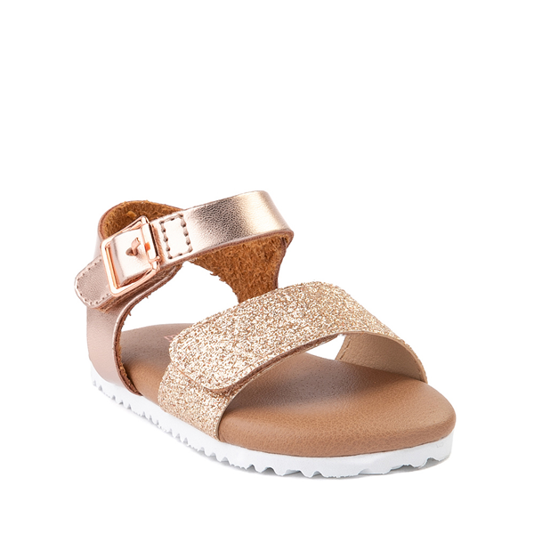 alternate view MIA Arabelle Sandal - Baby / Toddler - Rose GoldALT5