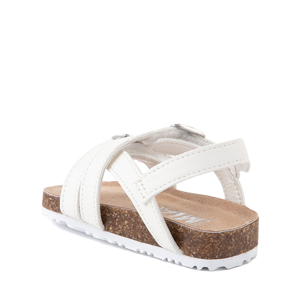 alternate view MIA Violet Sandal - Baby / Toddler - WhiteALT1