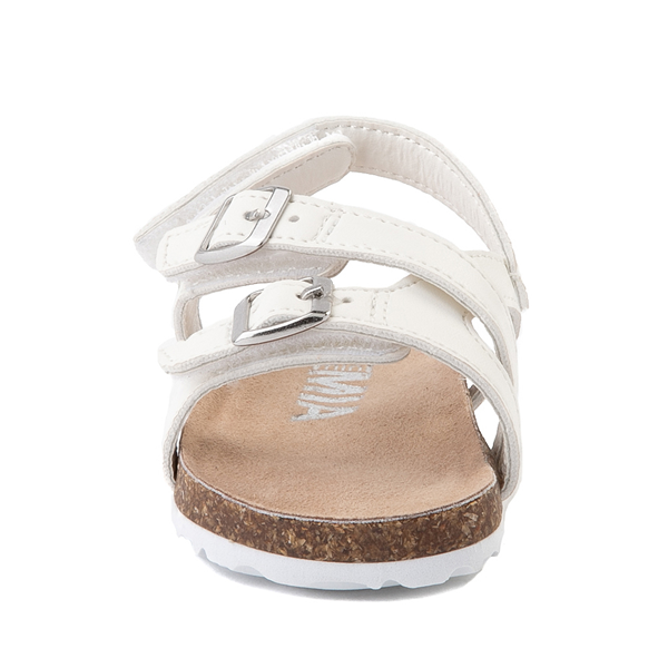 alternate view MIA Violet Sandal - Baby / Toddler - WhiteALT4