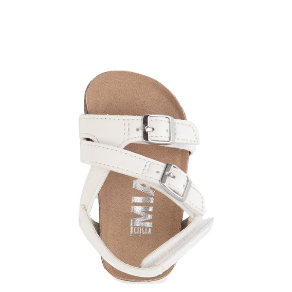alternate view MIA Violet Sandal - Baby / Toddler - WhiteALT4B