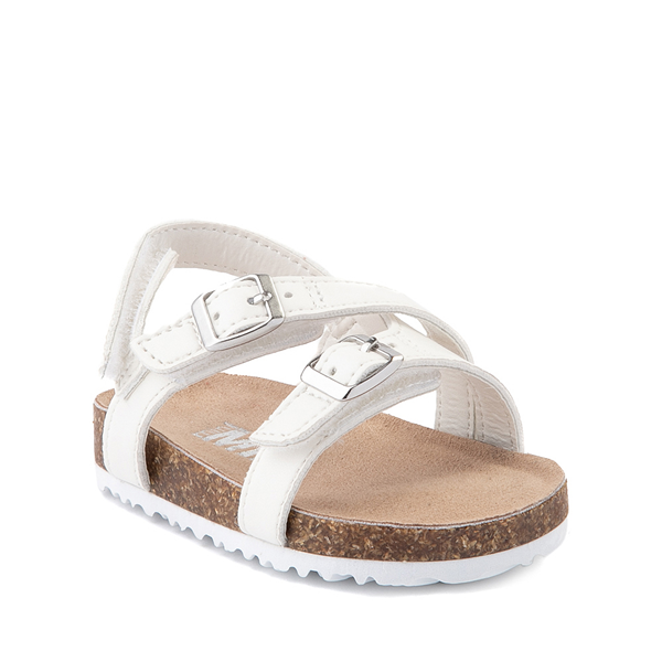 alternate view MIA Violet Sandal - Baby / Toddler - WhiteALT5