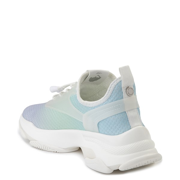 alternate view Womens Steve Madden Myles Athletic Shoe - Light Blue / MultiALT1