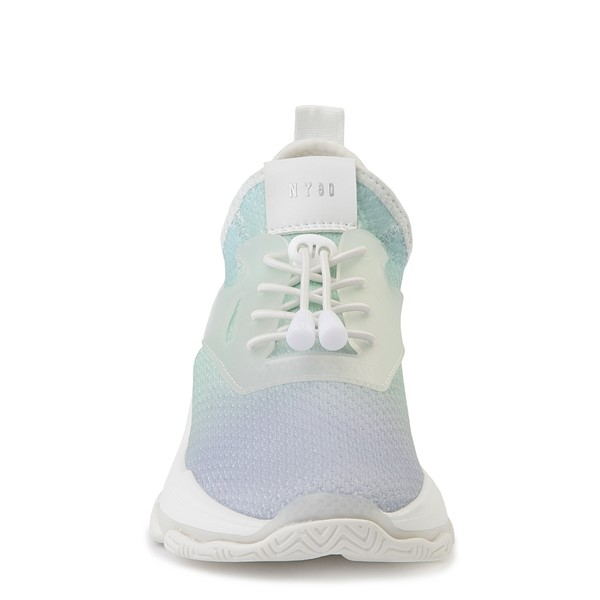 alternate view Womens Steve Madden Myles Athletic Shoe - Light Blue / MultiALT4