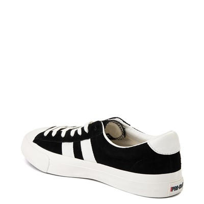 Alternate view of Mens PRO-Keds Royal Plus Lo Sneaker - Black