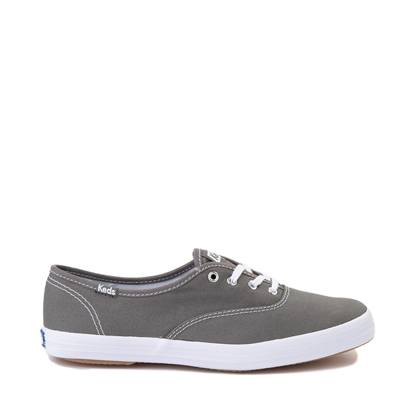 Womens Keds Champion Original Casual Shoe - Dark Gray
