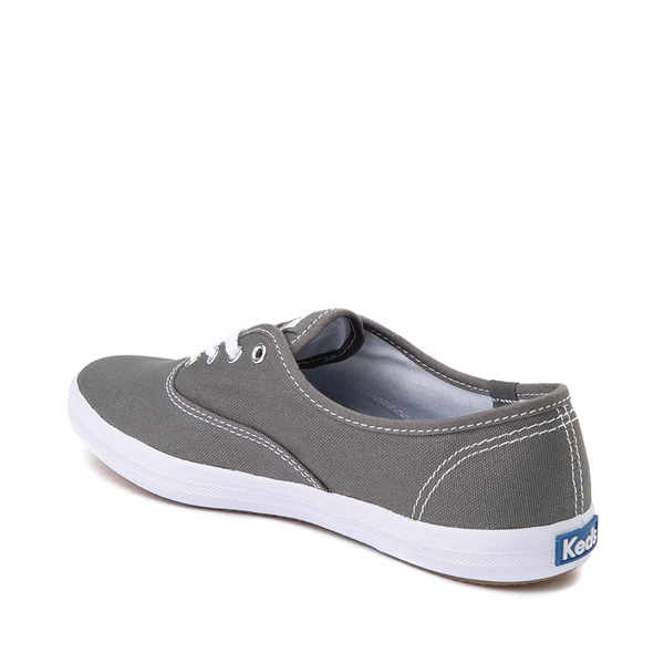 alternate view Womens Keds Champion Original Casual Shoe - Dark GrayALT1