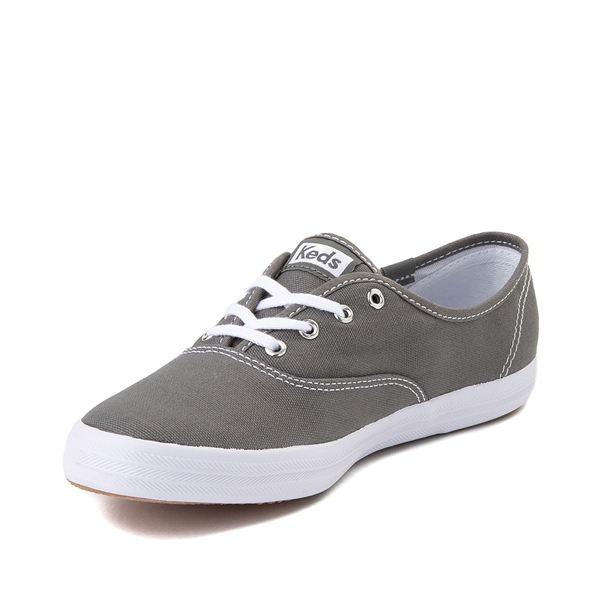 alternate view Womens Keds Champion Original Casual Shoe - Dark GrayALT2
