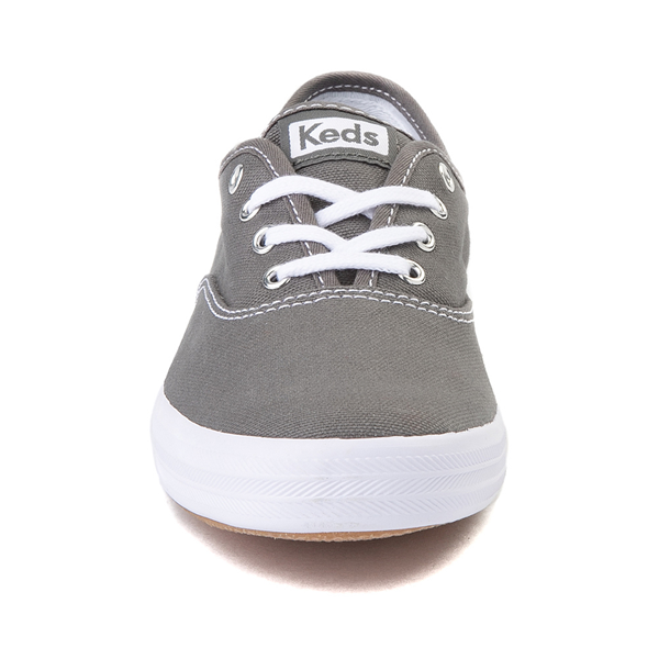 alternate view Womens Keds Champion Original Casual Shoe - Dark GrayALT4
