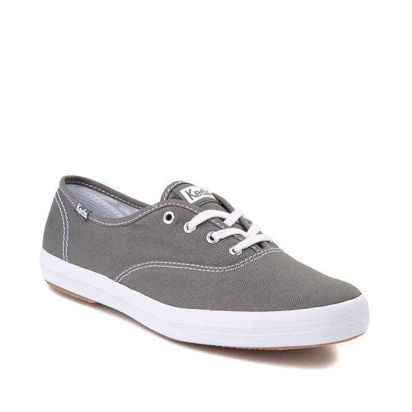 alternate view Womens Keds Champion Original Casual Shoe - Dark GrayALT5