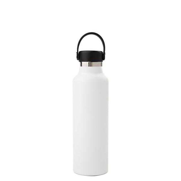 alternate view Hydro Flask® 21 oz Standard Mouth Water Bottle - WhiteALT1