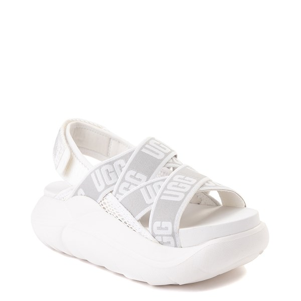 alternate view Womens UGG® LA Cloud Platform Sandal - WhiteALT1