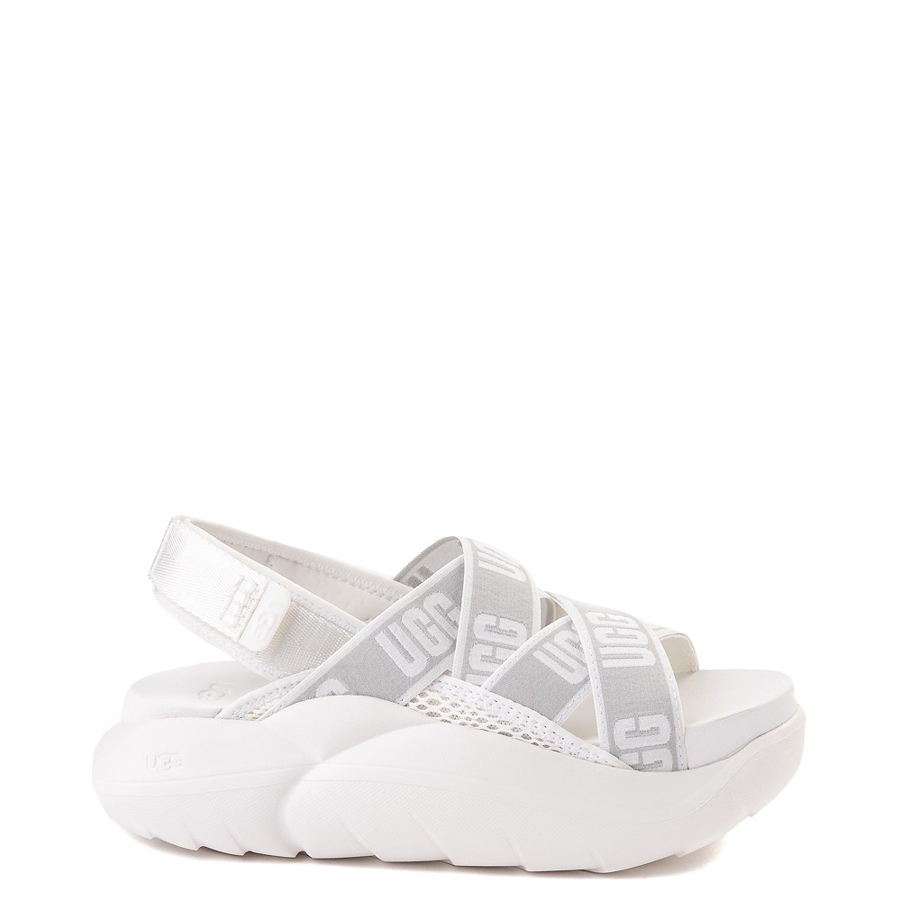 Womens UGG® LA Cloud Platform Sandal - White