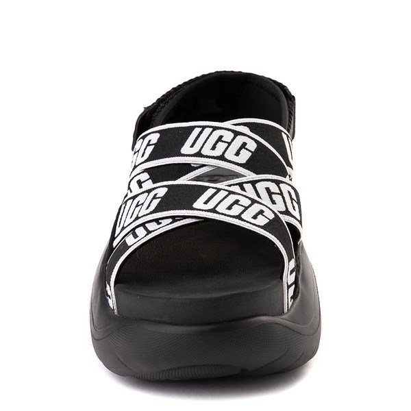alternate view Womens UGG® LA Cloud Platform Sandal - BlackALT4