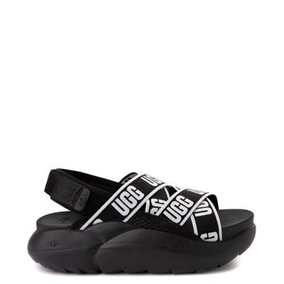 Main view of Womens UGG® LA Cloud Platform Sandal - Black