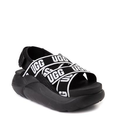 Alternate view of Womens UGG® LA Cloud Platform Sandal - Black