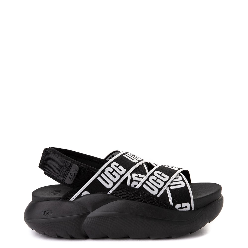 Womens UGG® LA Cloud Platform Sandal - Black