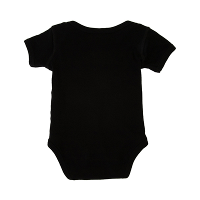 Alternate view of Bb Is For Biggie Snap Tee - Baby - Black