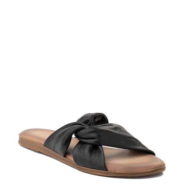 alternate view Womens Artisan by Zigi Enida Slide Sandal - BlackALT1