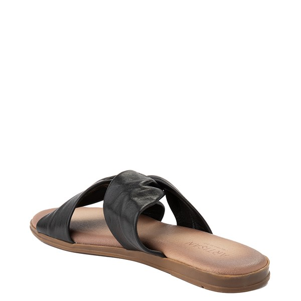 alternate view Womens Artisan by Zigi Enida Slide Sandal - BlackALT2
