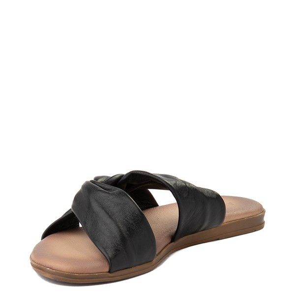 alternate view Womens Artisan by Zigi Enida Slide Sandal - BlackALT3