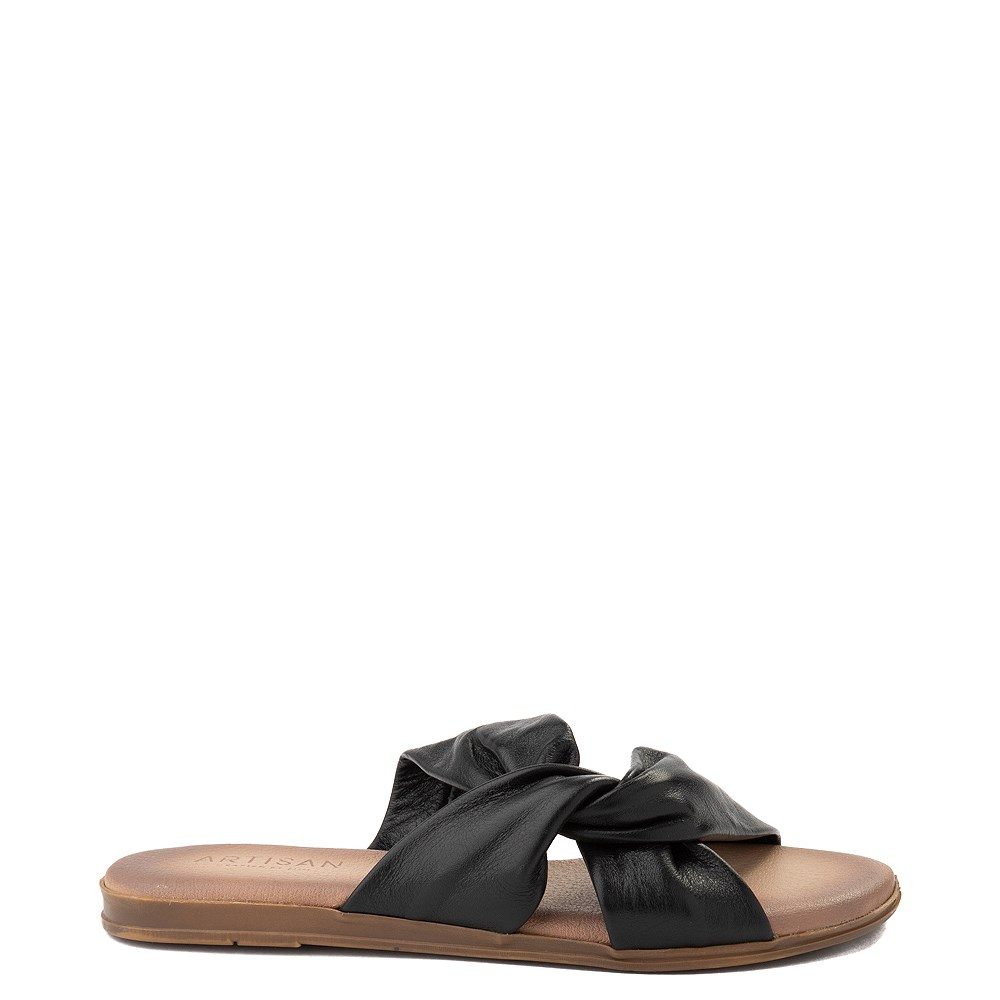 Womens Artisan by Zigi Enida Slide Sandal - Black