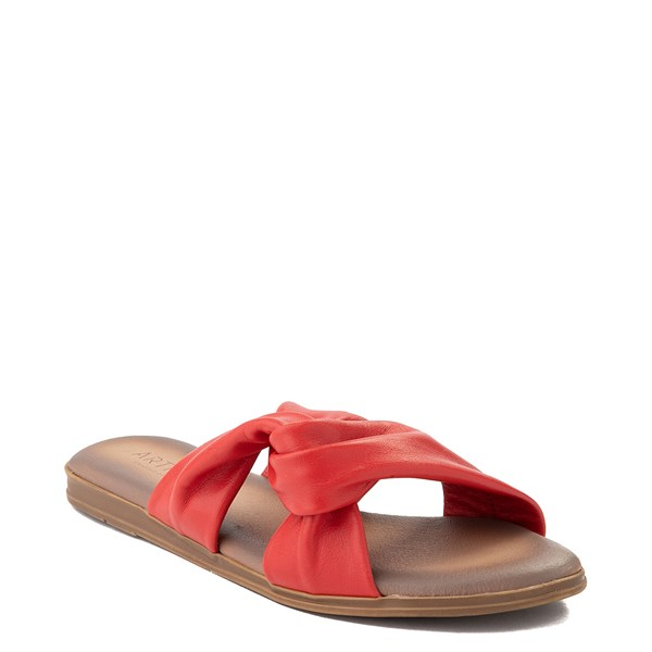 alternate view Womens Artisan by Zigi Enida Slide Sandal - CoralALT1