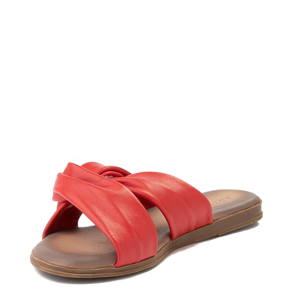 alternate view Womens Artisan by Zigi Enida Slide Sandal - CoralALT3