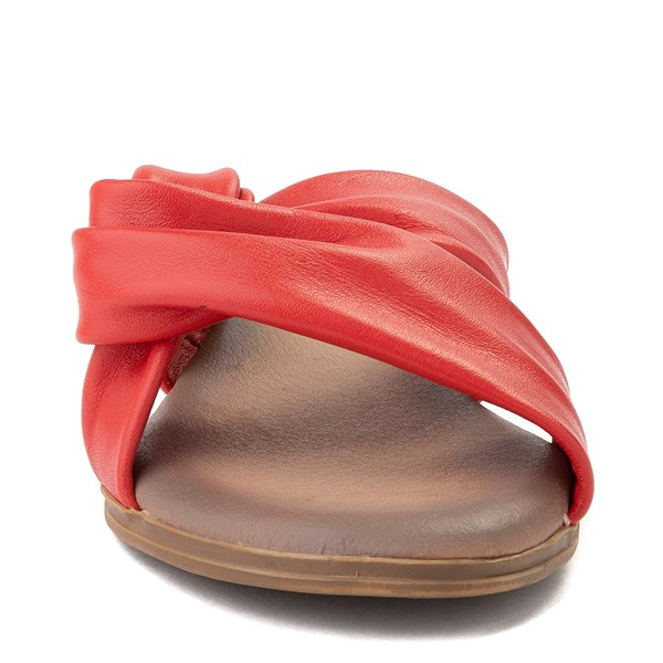 alternate view Womens Artisan by Zigi Enida Slide Sandal - CoralALT4
