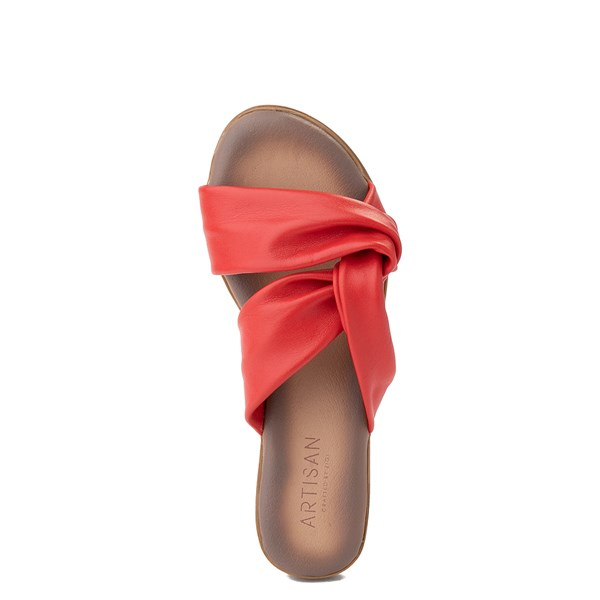 alternate view Womens Artisan by Zigi Enida Slide Sandal - CoralALT4B