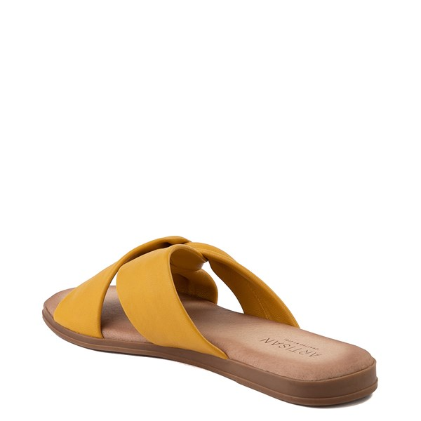 alternate view Womens Artisan by Zigi Enida Slide Sandal - MustardALT2