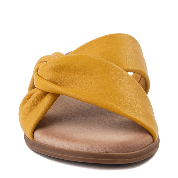 alternate view Womens Artisan by Zigi Enida Slide Sandal - MustardALT4