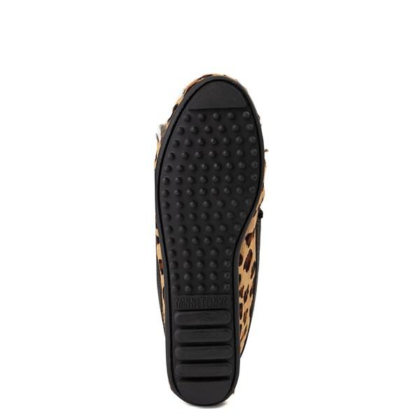 alternate view Womens Minnetonka Full Leopard Moccasin SlipperALT5
