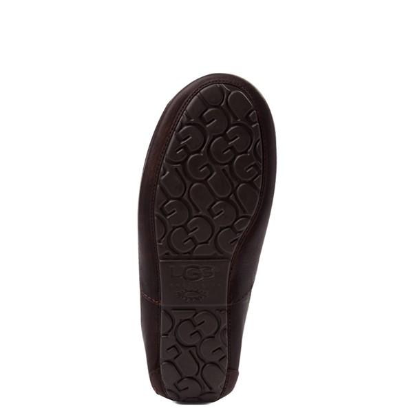 alternate view Mens UGG® Ascot Slip On Casual Shoe - BrownALT3