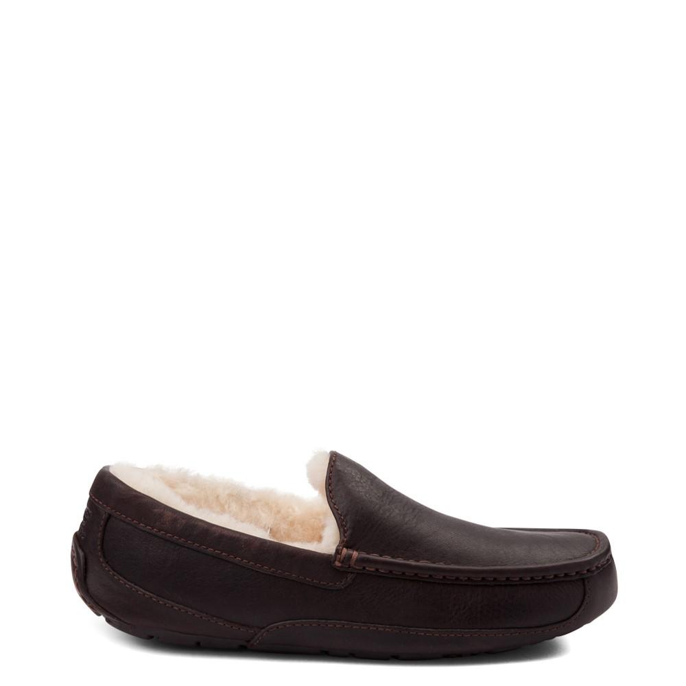 Mens UGG® Ascot Slip On Casual Shoe - Brown