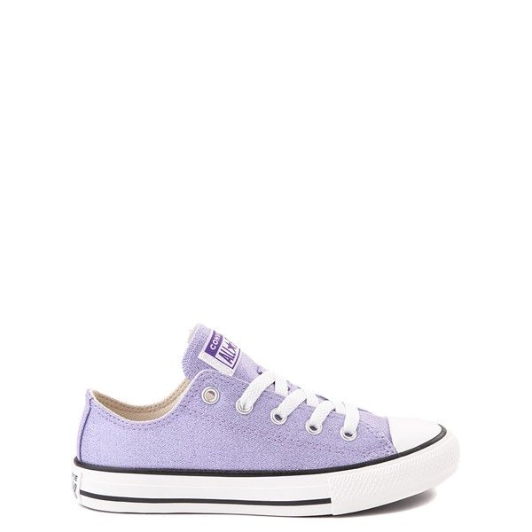 Converse Chuck Taylor All Star Lo Glitter Sneaker - Little Kid / Big Kid - Moonstone