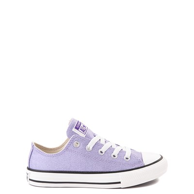 Main view of Converse Chuck Taylor All Star Lo Glitter Sneaker - Little Kid / Big Kid - Moonstone