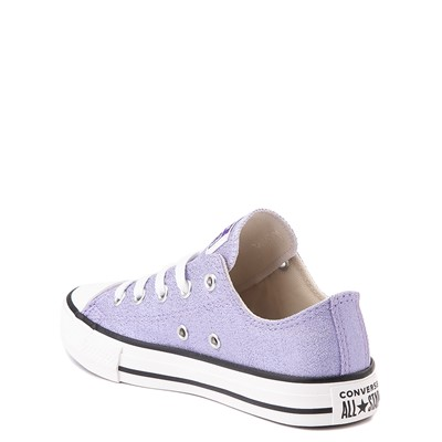 Alternate view of Converse Chuck Taylor All Star Lo Glitter Sneaker - Little Kid / Big Kid - Moonstone