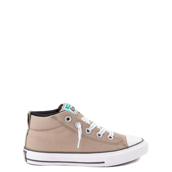 Converse Chuck Taylor All Star Street Mid Sneaker - Little Kid / Big Kid - Khaki / Malachite