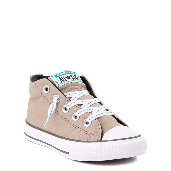 alternate view Converse Chuck Taylor All Star Street Mid Sneaker - Little Kid / Big Kid - Khaki / MalachiteALT1B