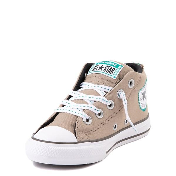 alternate view Converse Chuck Taylor All Star Street Mid Sneaker - Little Kid / Big Kid - Khaki / MalachiteALT3