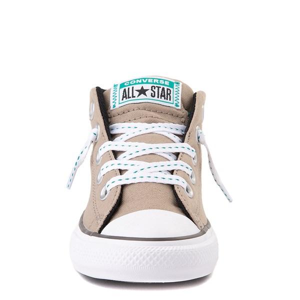 alternate view Converse Chuck Taylor All Star Street Mid Sneaker - Little Kid / Big Kid - Khaki / MalachiteALT4