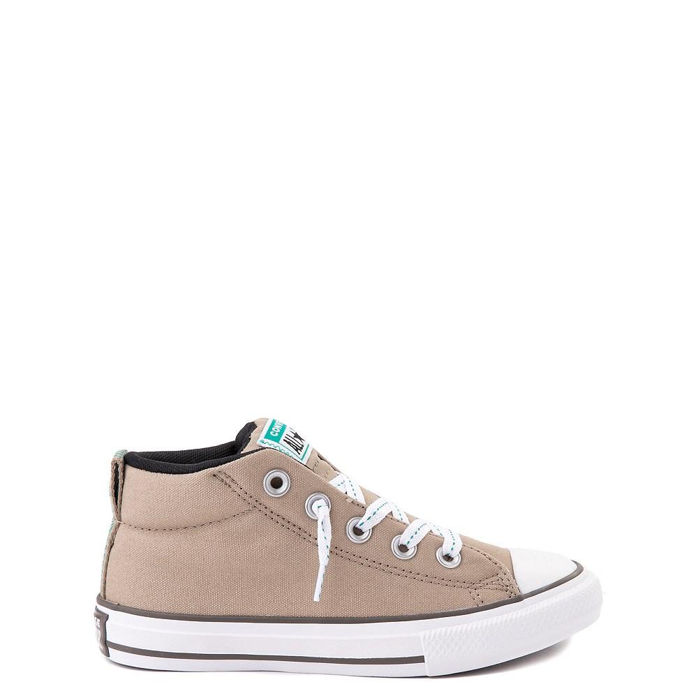 Converse Chuck Taylor All Star Street Mid Sneaker - Little Kid / Big Kid - Khaki / Malachite
