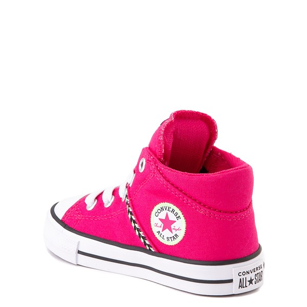 alternate view Converse Chuck Taylor All Star Madison Mid Sneaker - Baby / Toddler - Cerise PinkALT2