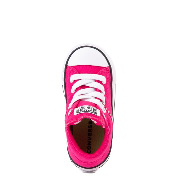 alternate view Converse Chuck Taylor All Star Madison Mid Sneaker - Baby / Toddler - Cerise PinkALT4B