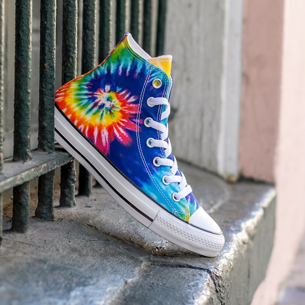 alternate view Converse Chuck Taylor All Star Hi Sneaker - Tie DyeALT1B